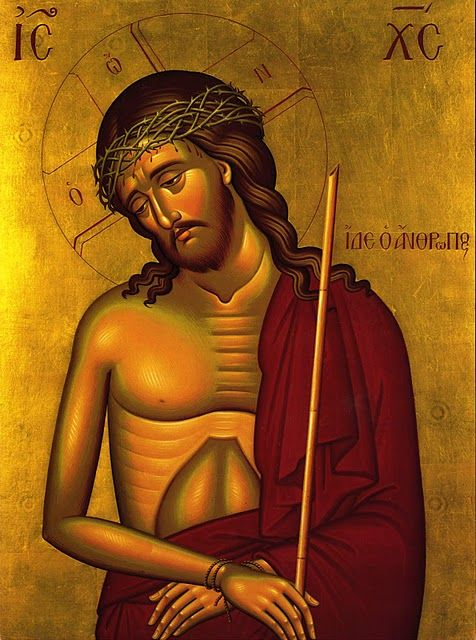Image result for Christ suffering icon