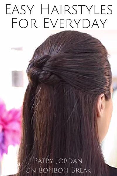 Easy, Everyday Hairstyles   Easy everyday hairstyles, Everyday ...