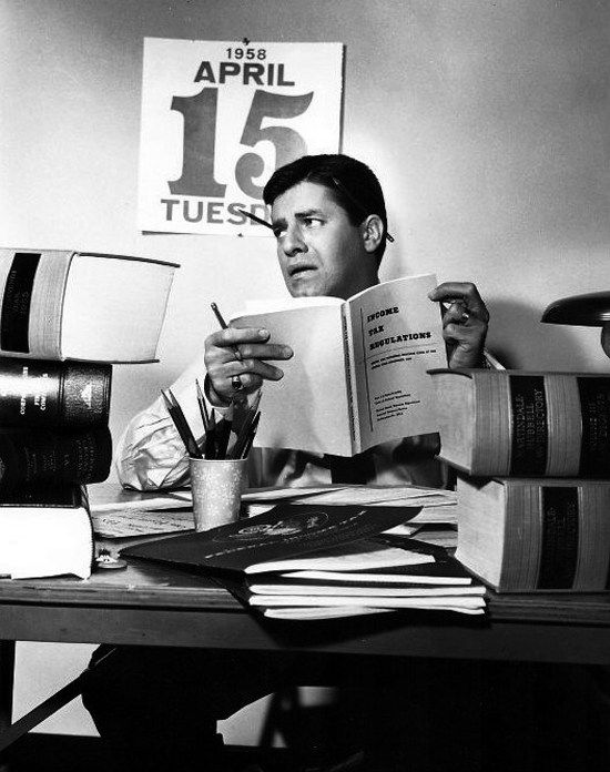 Jerry Lewis leyendo reading