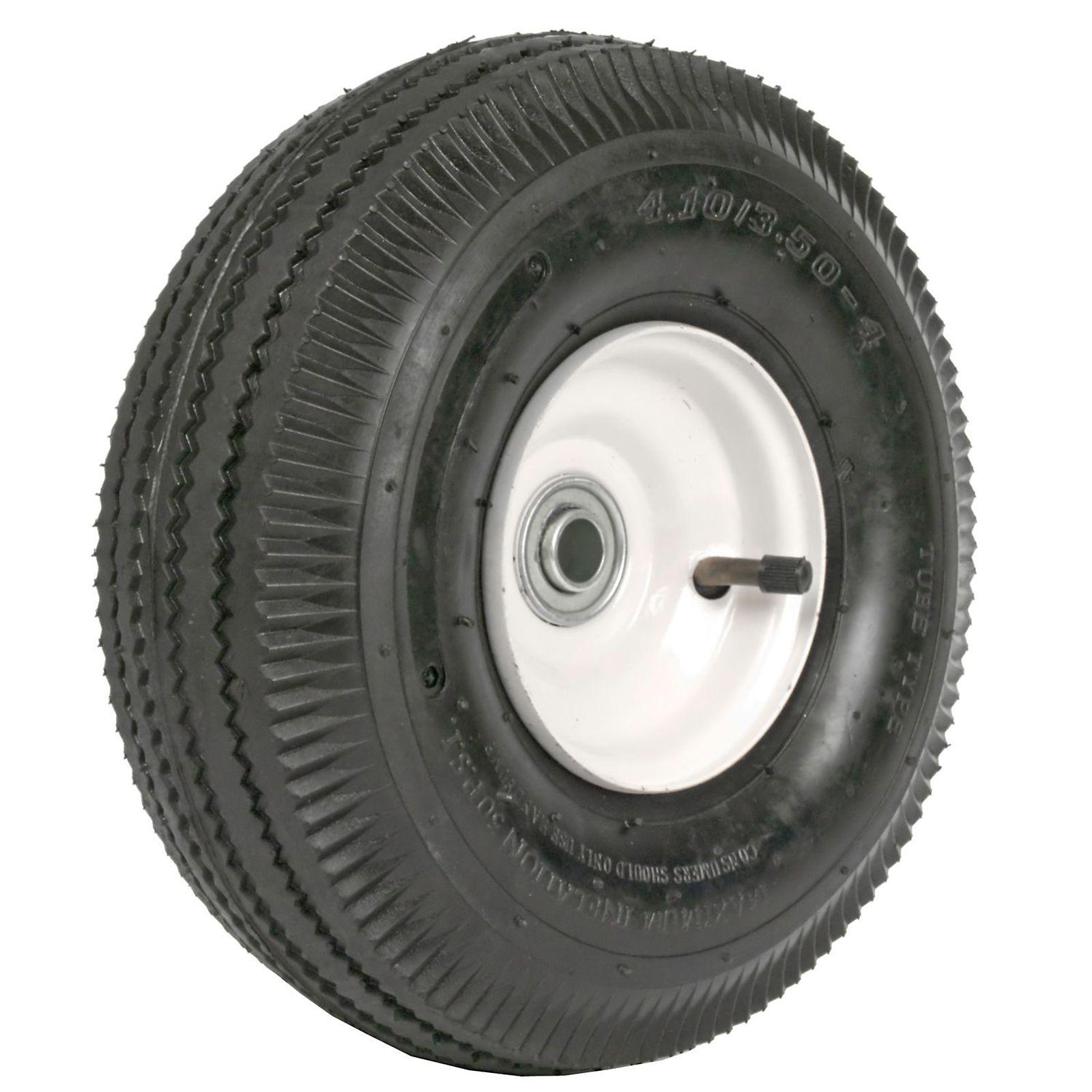 Martin Wheel 354dc4sw242ip 410 350 4 10 Inch Hand Truck Wheel 2 1 4x5 8 Inch Offset Hub Steel Hand Trucks Truck Wheels Martin