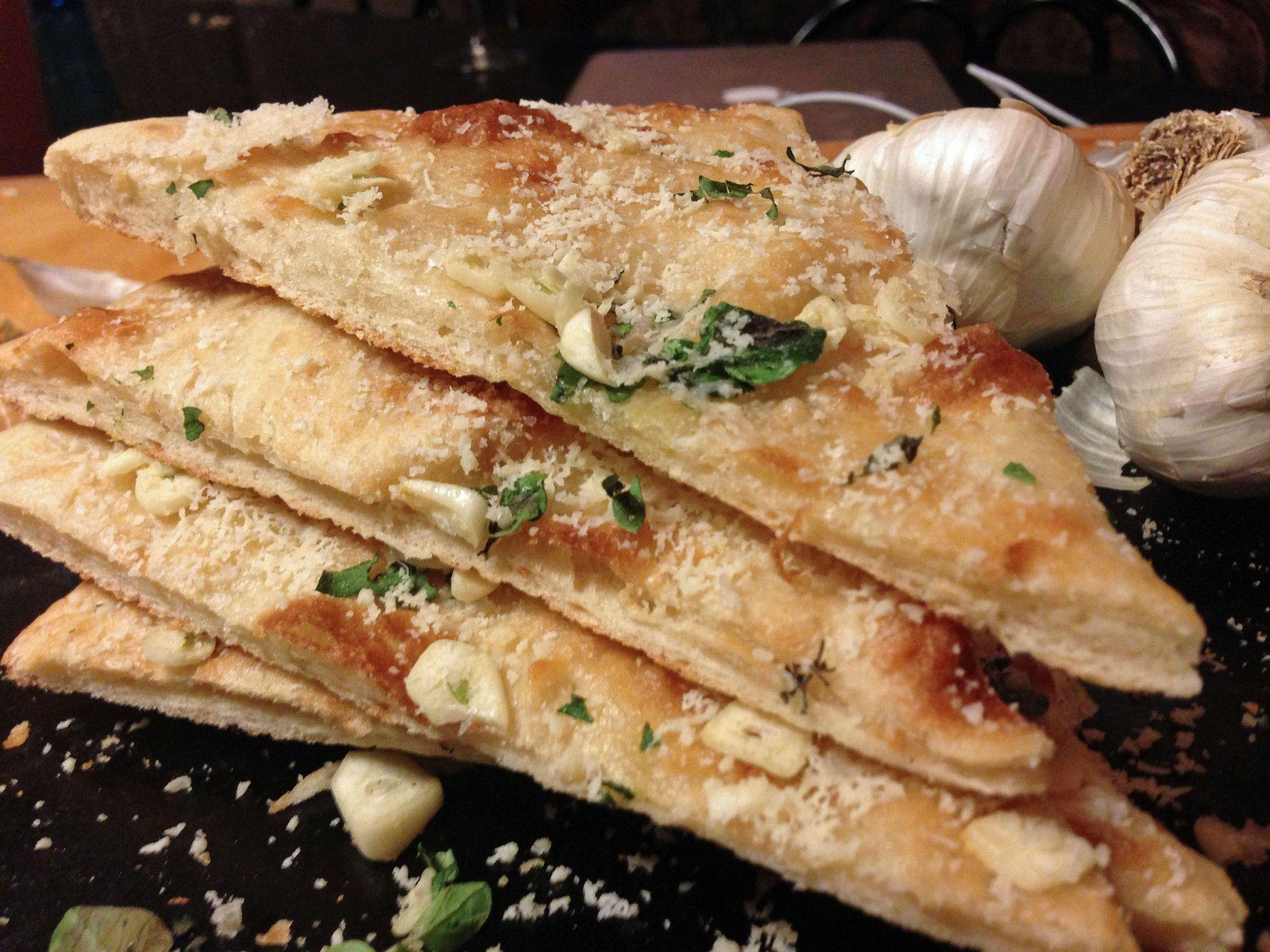 Platter Talk: Pizza Dough + aglio e origano Pizza - Garlic and Oregano Pizza