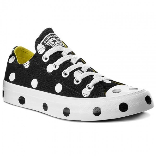 f4afb6fe97bf3 Trampki CONVERSE - Ctas Ox 560628C Black/White/Fresh Yellow ...
