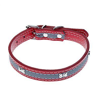 Collar De Cuero Para Perro Con Detalles En Huesos Divine Chien Collar De Cuero Cuero Perros