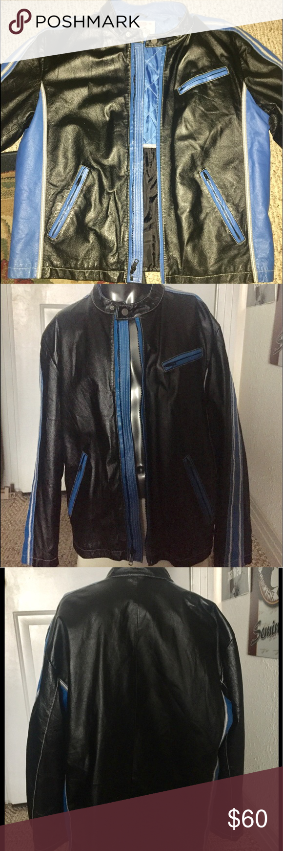 Super motorcycle jacket by Wilsons leather size XL