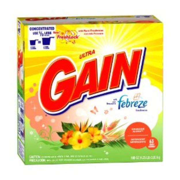 I love Gain Detergent With Febreze Freshness Hawaiian Aloha Scent Powder Detergent 63 Loads at @Influenster!