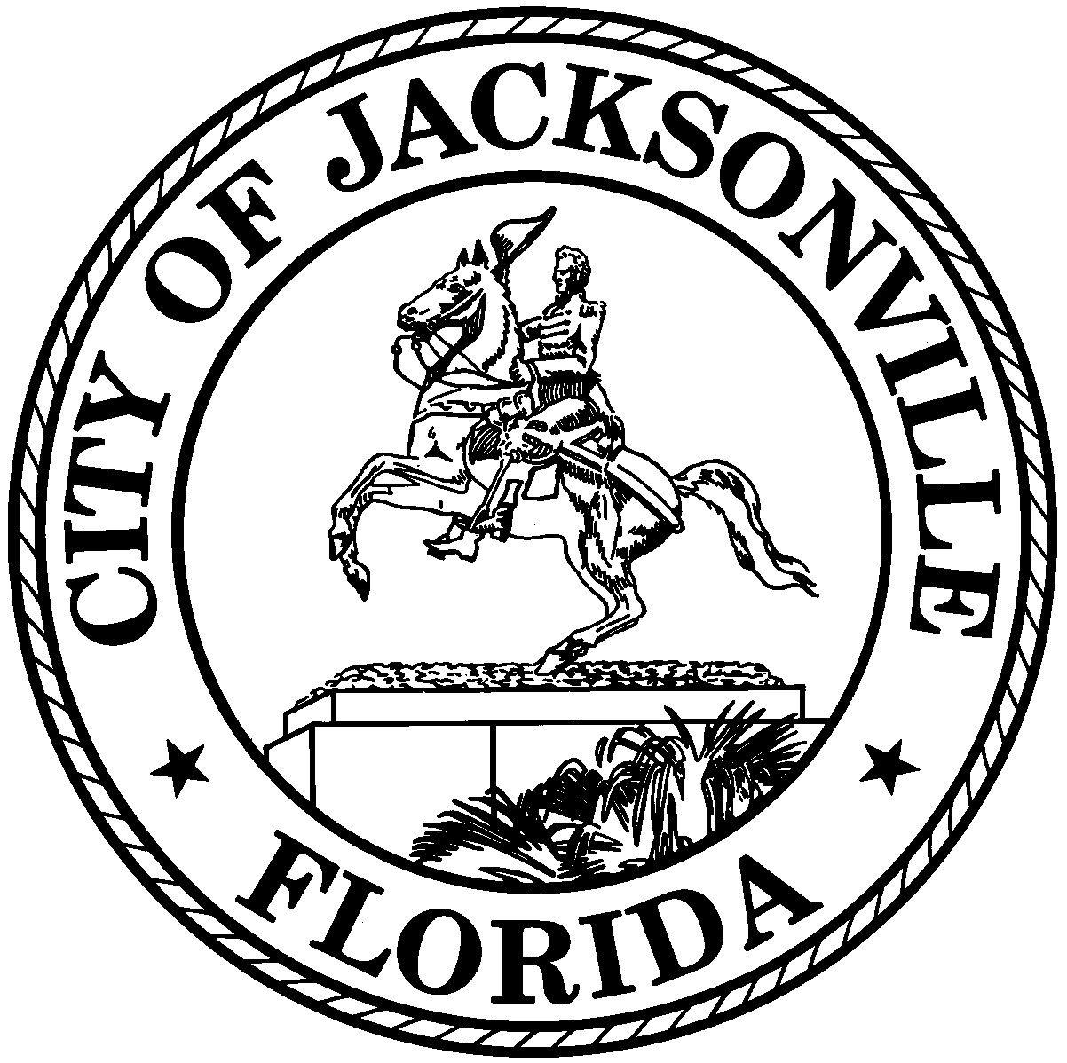 Official Seal Of Jacksonville Florida Florida Jacksonville Florida City