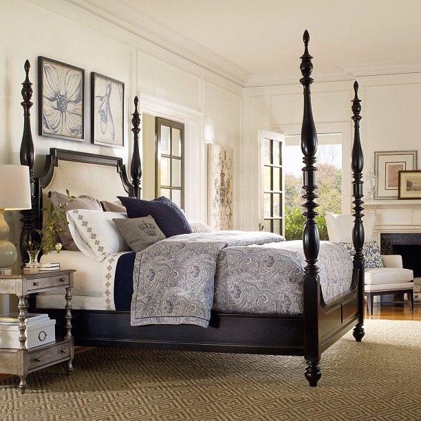 4 poster bed  Bedroom Design in 2019  Bedding master