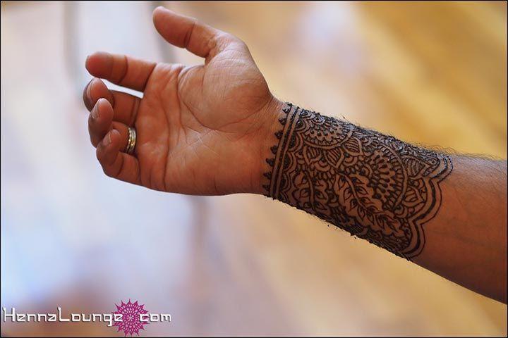 Mehndi Designs For Men Bracelet Style Pattern Manly Henna