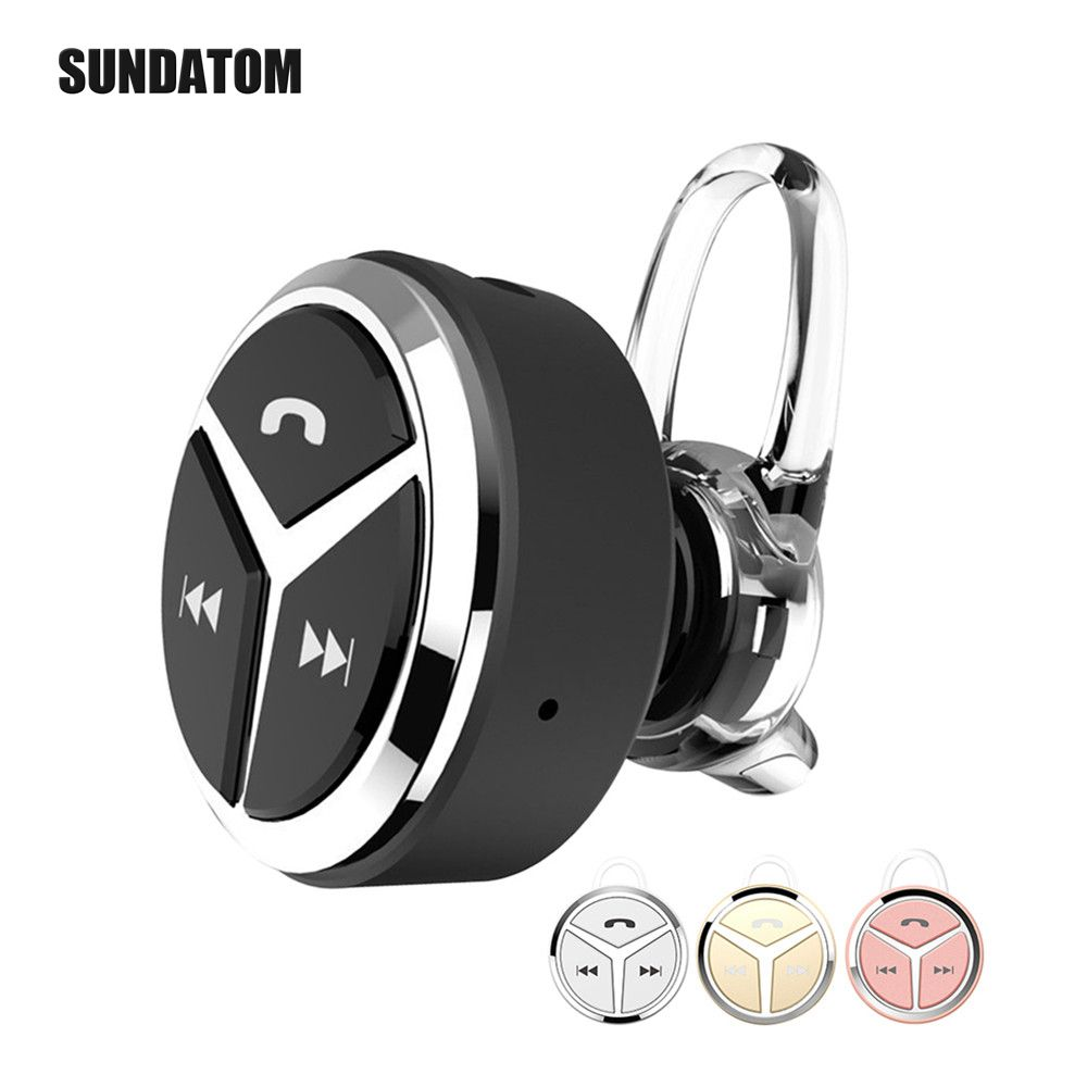 Car Smart Bluetooth Earbuds Earphones Wireless Ear Hook Mini Metal Headset Earbud Noise Cancelling Headsets With Mic