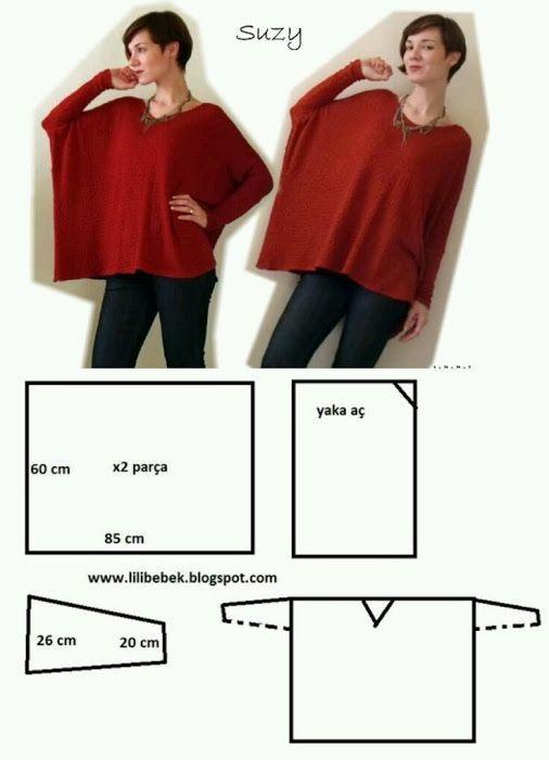 Patrón | tejidos | Pinterest | Costura, Ropa y Patrones