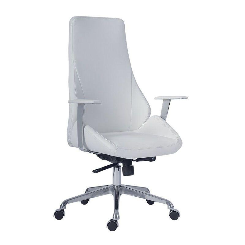 Bürostuhl weiß leder  Bürodrehstuhl SPACE Leder weiss | Bürostühle | Pinterest