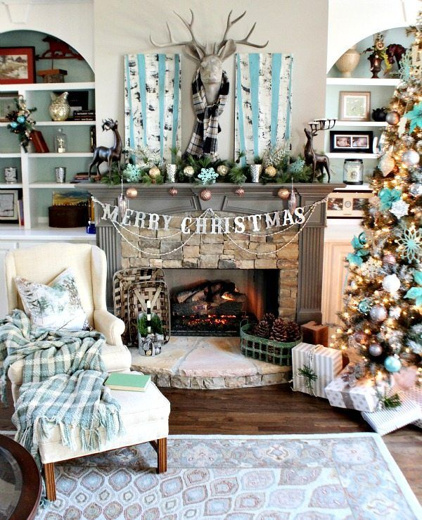 Christmas Tree Decorating Ideas Birch and other trees Pinterest