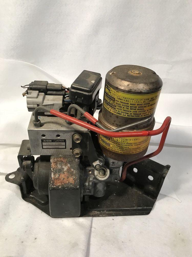 2002 02 2003 Toyota Prius Abs Anti Lock Brake Pump Actuator 47070 47020
