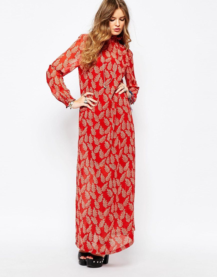 Image of first u i printed maxi dress check out our amazing