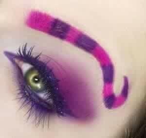 Chester The Cat Eyeshadow Alice In Wonderland Makeup Cheshire Cat Makeup Wonderland Makeup