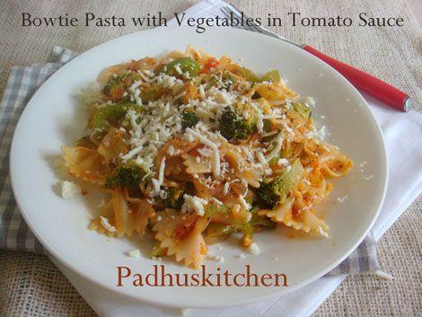 Pastaaaaaaaaaa!!  http://www.padhuskitchen.com/2012/06/pasta-in-tomato-sauce-easy-pasta-recipe.html