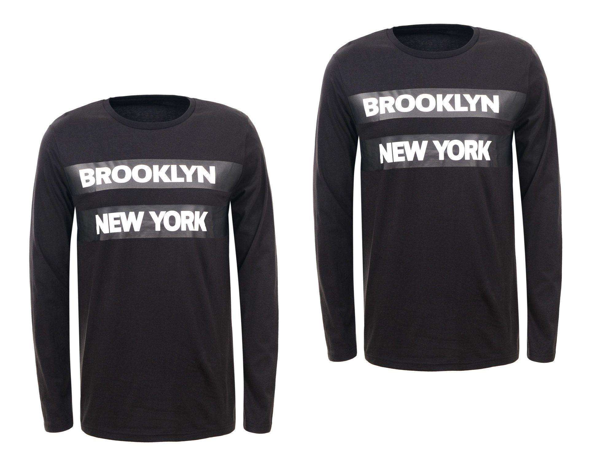 Longsleeve Bluzka Meska Z Dlugim Rekawem Bluza S 6936897708 Oficjalne Archiwum Allegro Brooklyn New York Fashion York