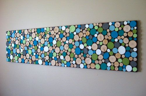 DIY Wood Branch Wall Art Looking for tips about woodworking? http://www.woodesigner.net has them!