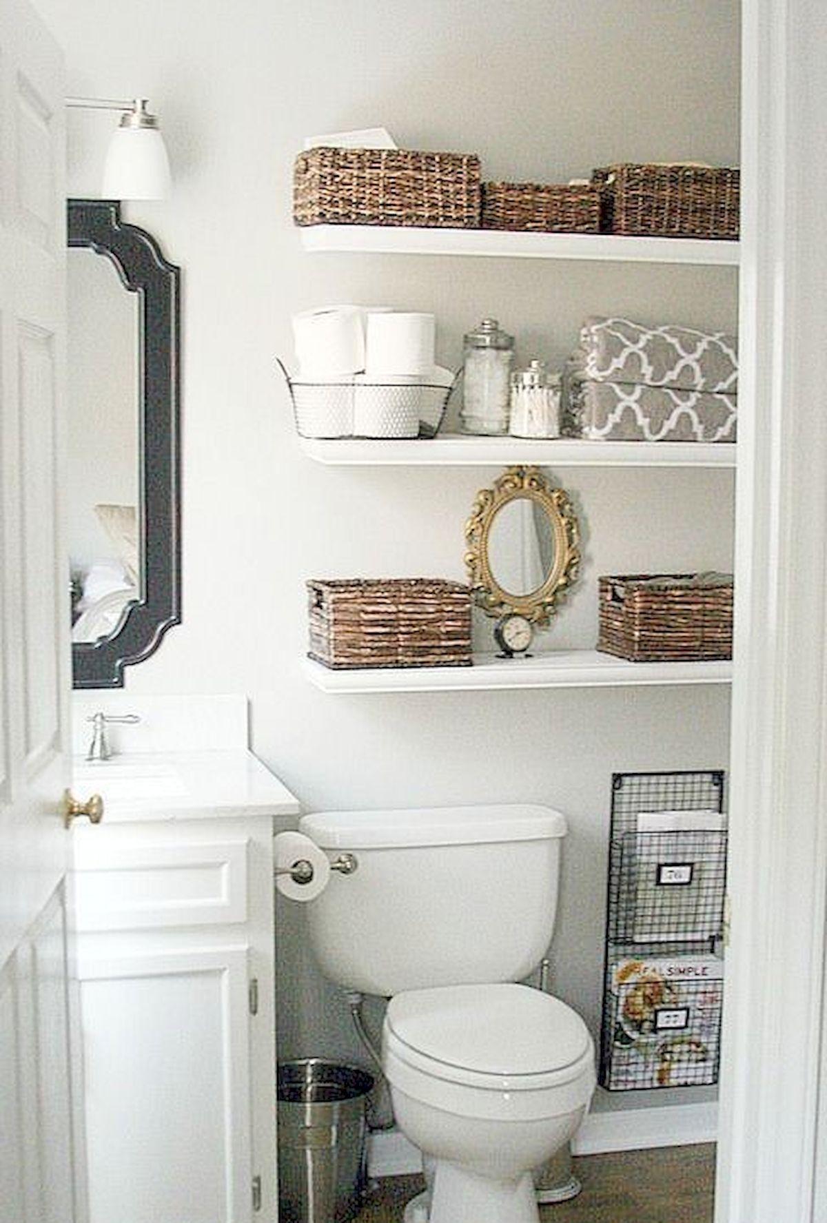33 Fantastic Bathroom Storage Decor Ideas And Remodel33decor