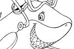 Shark Week Coloring Pages Discovery Com Amazing Design