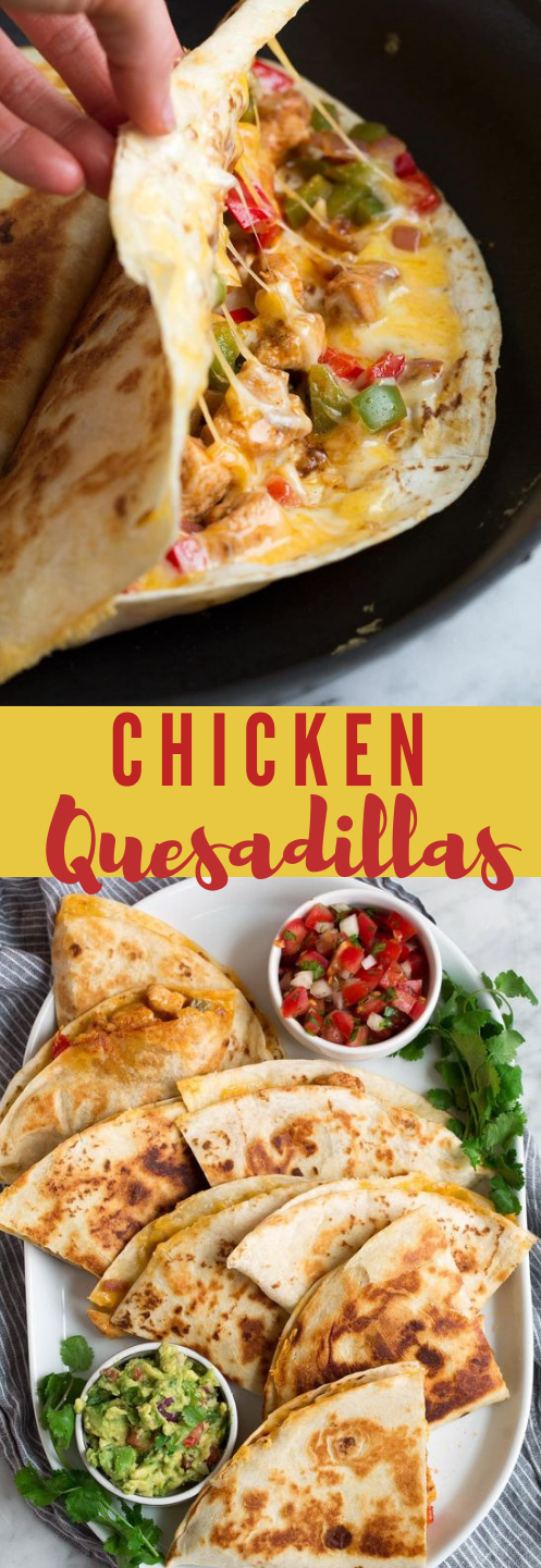 Quesadillas dinner food in 2020 Mexican food recipes