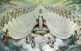 IMAGENES RELIGIOSAS: Coronación de la Virgen María
