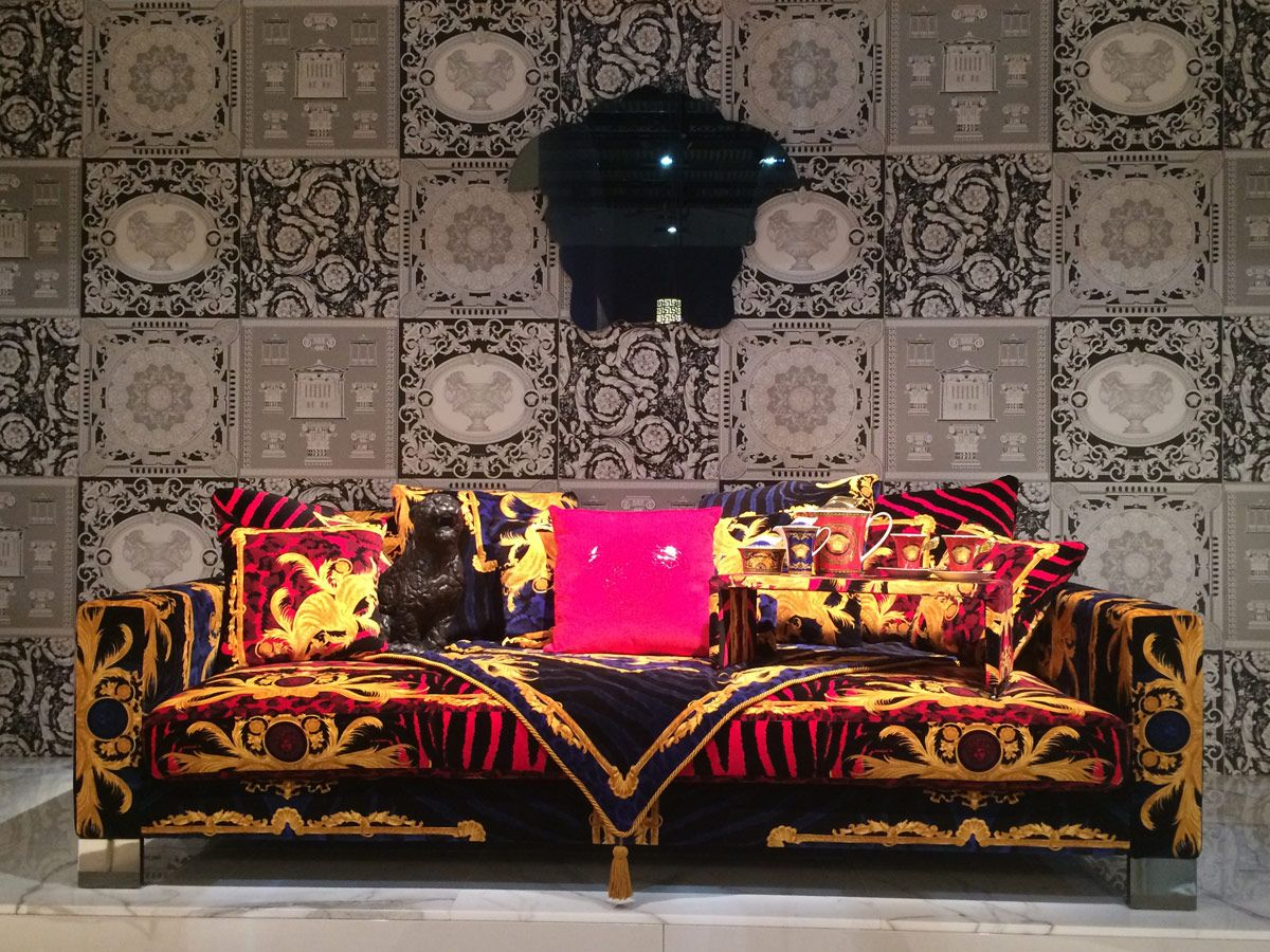 Sofa by #VersaceHome