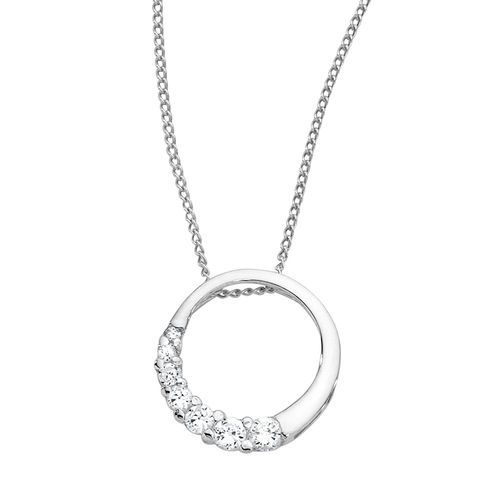Cubic zirconia circle pendant michael hill jewellery pinterest cubic zirconia circle pendant michael hill mozeypictures Choice Image
