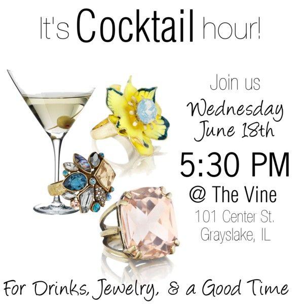 """Cocktail Hour Invite"""