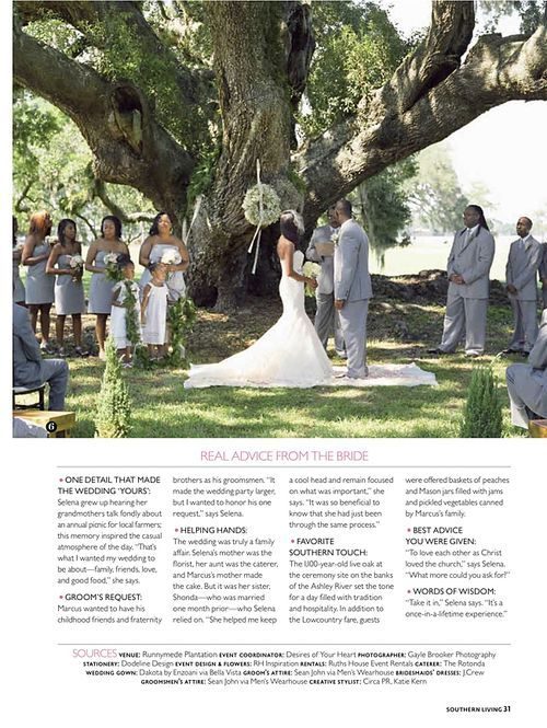 Giveaway From Southern Living Weddings Outdoor Wedding Southern Wedding Wedding