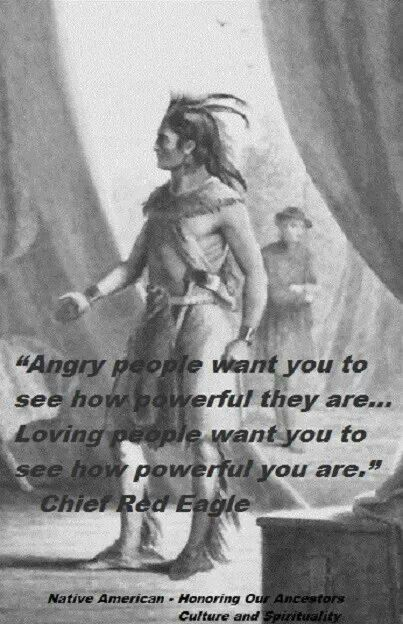 Chief Red Eagle Martial Arts Quotes And Inspirational Words