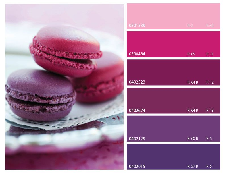 color trends 2014, pink, magenta, and purple color palette, pink ...