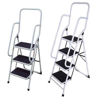 Terrific Foldable Non Slip 2 3 4 Step Steel Ladder Tread Stepladder Squirreltailoven Fun Painted Chair Ideas Images Squirreltailovenorg