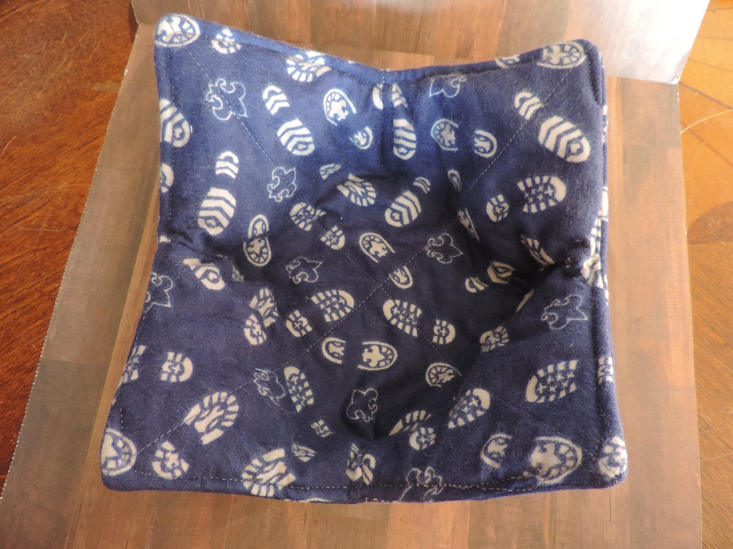 Boy Scout Microwave Bowl Cozy Microwave Pot Holder Ice