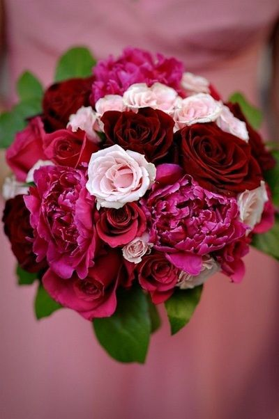 Add A Pop Of Color With This Rich And Vibrant Bunch From Dangwa Florist Beforeidobridalfair Beforeidobridalfairex Pink Bride Wedding Flowers Maroon Wedding