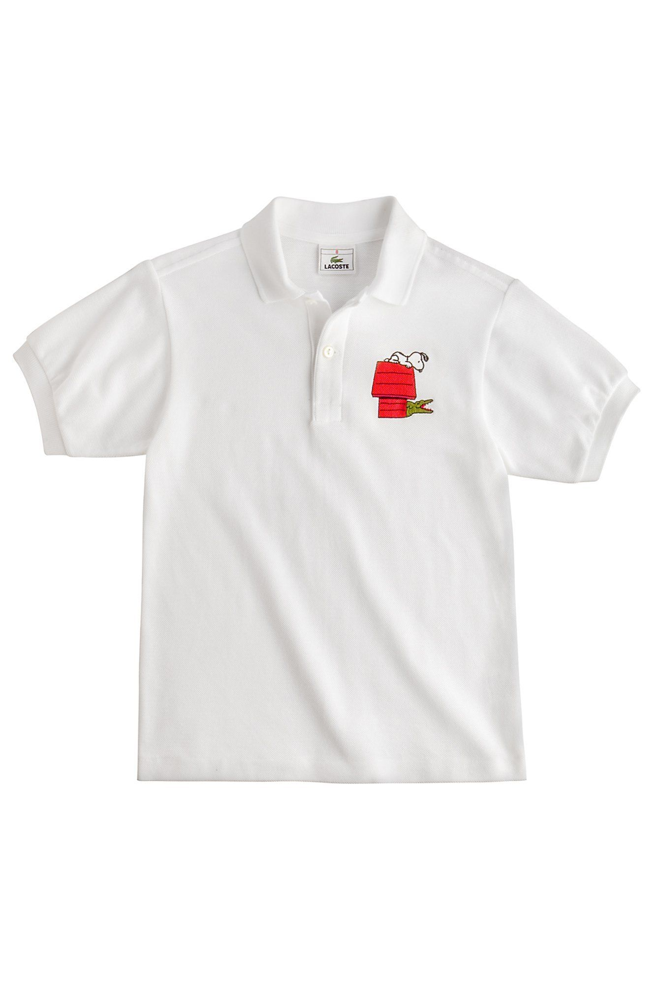 62b336a985 Lacoste Children s Peanuts Snoopy Polo   Boys