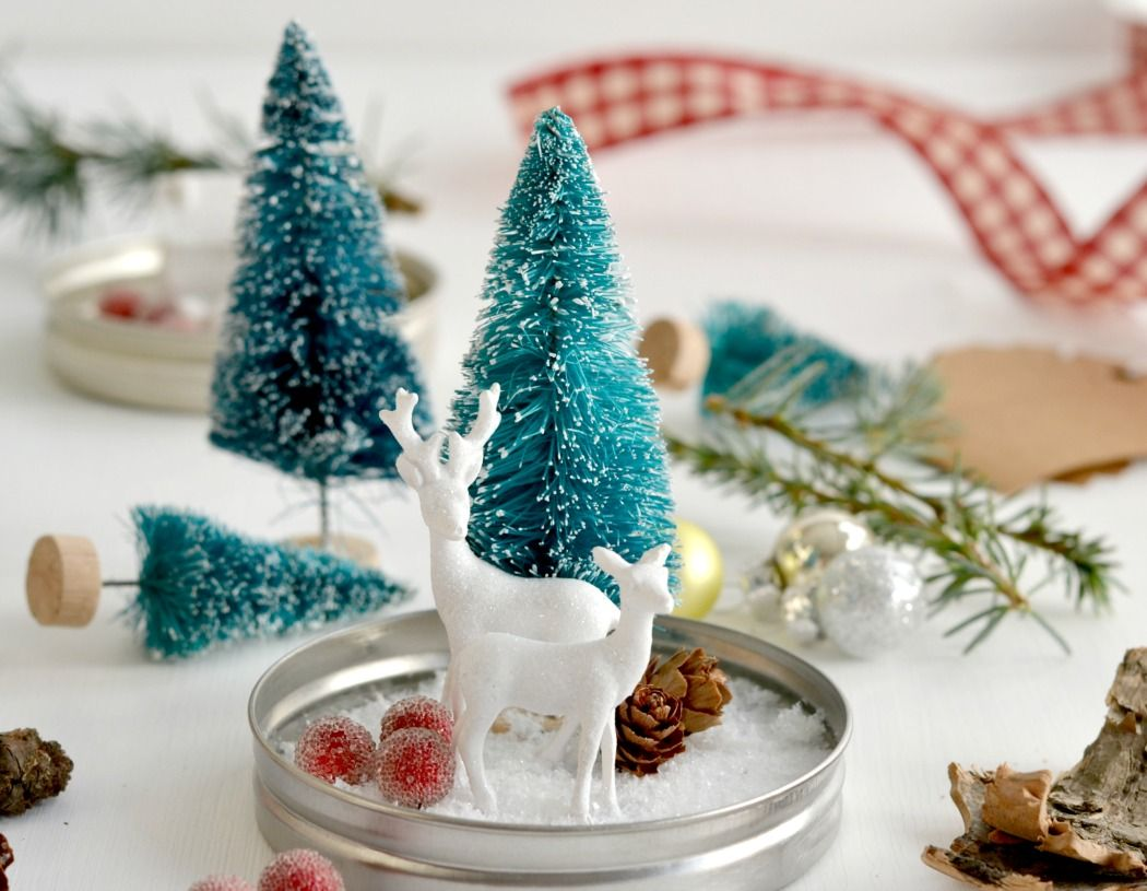 diy euer winterwonderland im glas selbstgemachtes. Black Bedroom Furniture Sets. Home Design Ideas