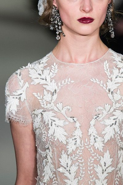 Marchesa Fall 2015 Runway Pictures - Livingly
