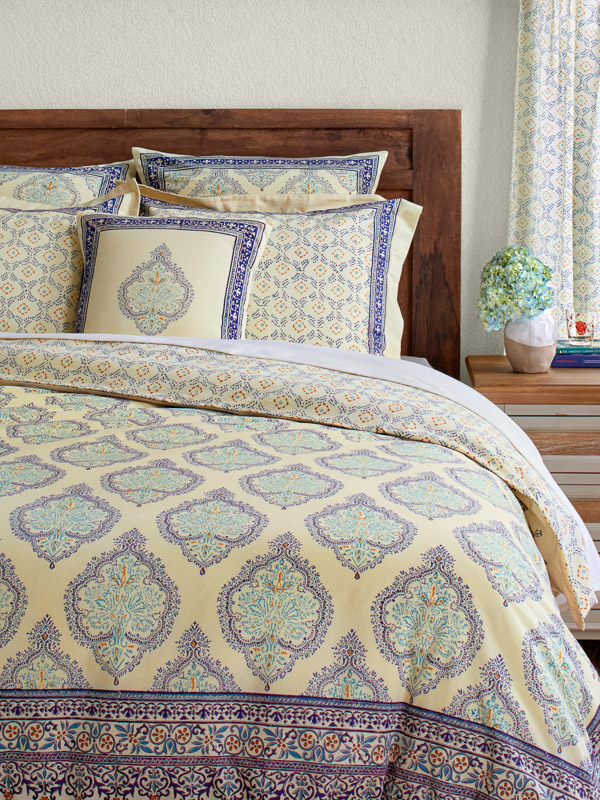 French Country Duvet Cover Bohemian Yellow Duvet Covers Yellow Blue Duvet Cover Orange Duvet Covers