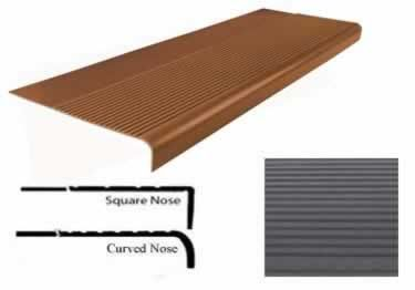 Best Roppe Rubber Stair Treads Non Slip Safety Rib Large 400 x 300
