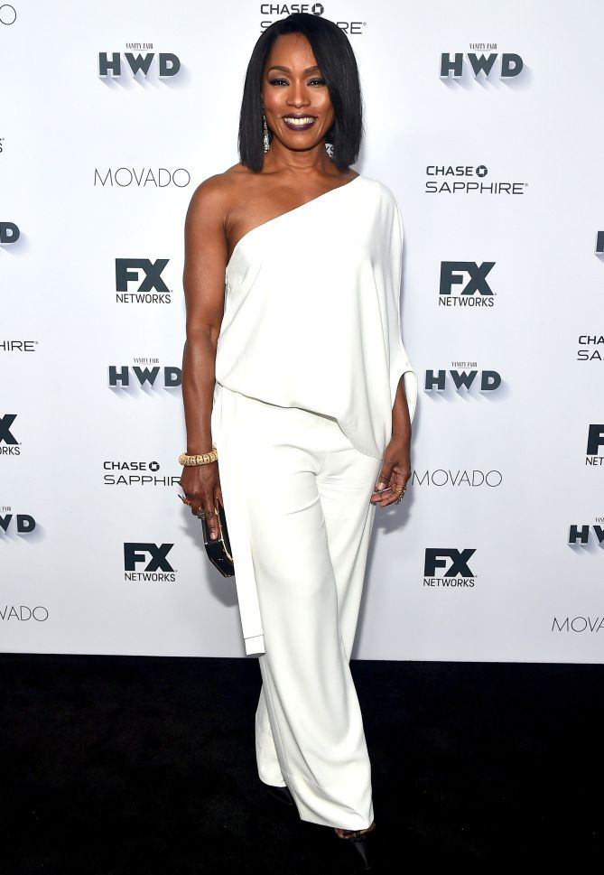 bf4ab9d2b79f Emmys 2016  All the Afterparty and Pre-Party Dresses You Didn t See -  Angela Bassett in a one-shoulder white jumpsuit