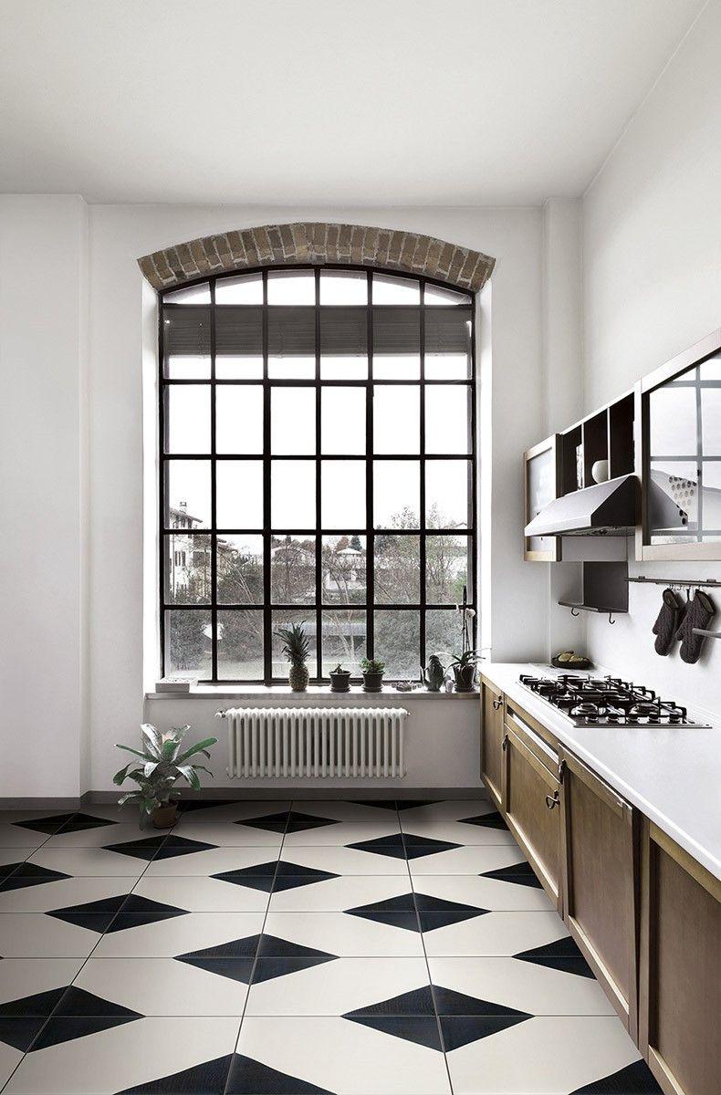 Carrelage Cuisine Noir Et Blanc Deco Cuisine Noir Et Blanc 4 Avec