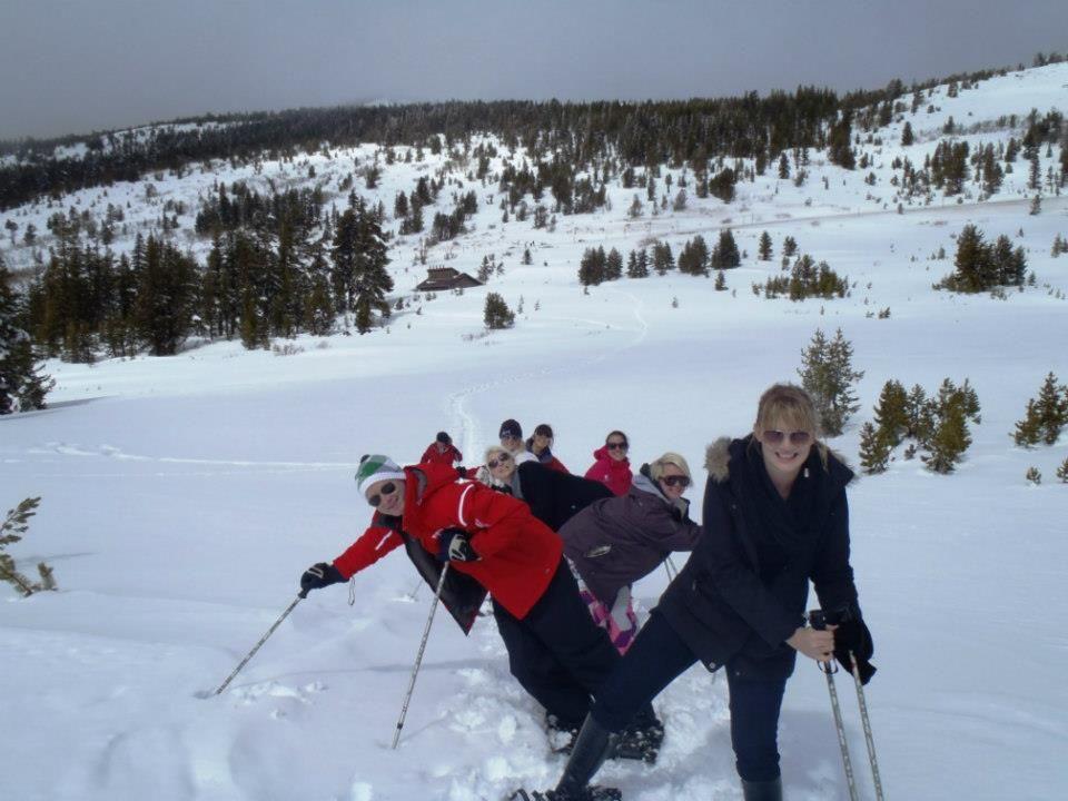 Fully guided snowshoe tours around lake tahoe tahoe