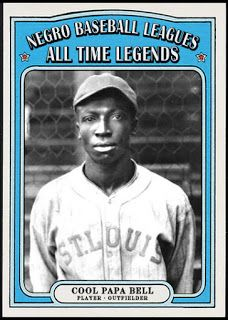 """Photo of NEGRO LEAGUE LEGENDS- """"COOL PAPA"""" BELL"""