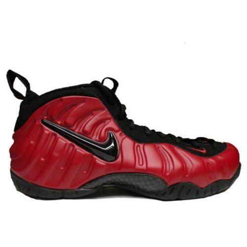wholesale dealer 22968 ee7d5 Nike Air Foamposite pro Red Black 624041-602
