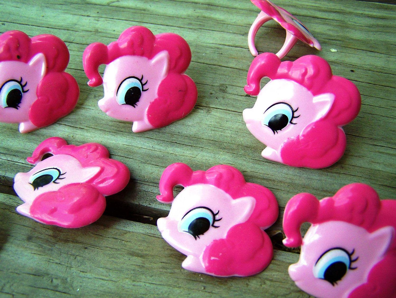 Pinkie Pie My Little Pony Friendship is Magic Birthday Party Cupcake