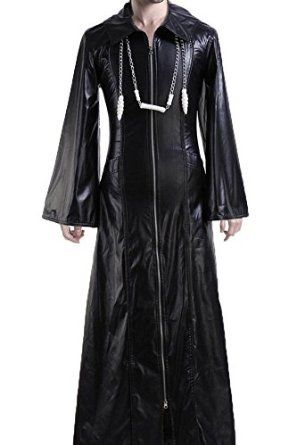 Amazon Com Cosplaysky Organization Xiii Kingdom Hearts Coat Roxas Costume Clothing Cosplay Costumes Clothes Long Sleeve Dress