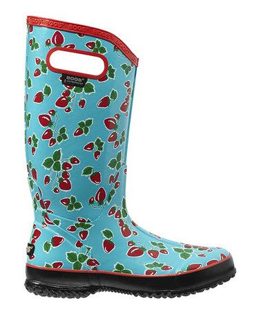 Loving this Strawberry Fruit Rain Boot - Women on #zulily! #zulilyfinds
