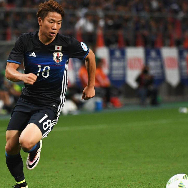 Arsenal Striker Takuma Asano Targets World Cup Success With Japan Sanfrecce Hiroshima European Football Striker