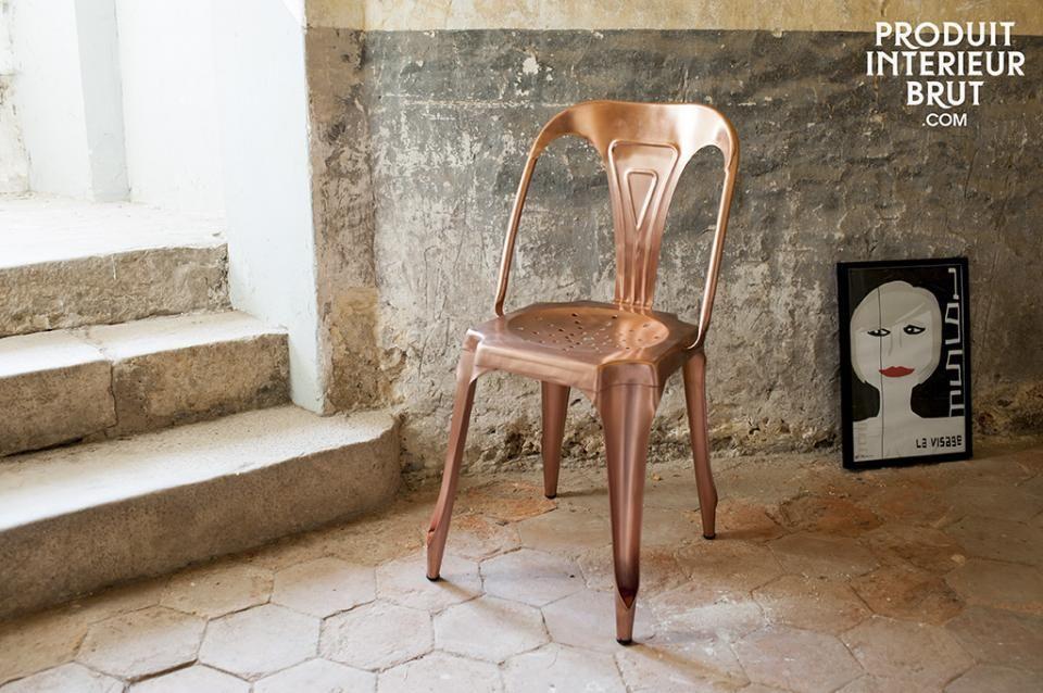 Een echte eyecatcher voor in je loft! Creëer een gezellige eethoek en plaats deze stoelen rondom een houten eettafel.